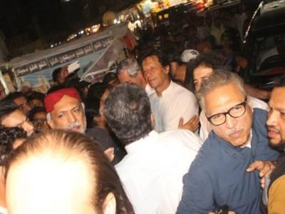 عمران خان مزار میں داخلے کے وقت محافظوں کی موجودگی پر سردار یارمحمدرند پر برہم :نجی ٹی وی