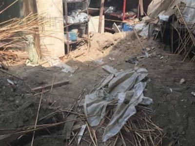 گھر کی چھت گرنے سے بچوں سمیت 7 افراد جاں بحق