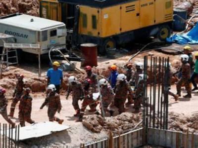 لینڈسلائیڈنگ سے پاکستانیوں سمیت11غیرملکی محنت کش جاں بحق