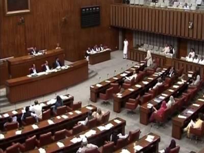 اپوزیشن جماعتوں نے انتخابی بل 2017 ءمیں مزید ترمیم کا بل سینیٹ میں پیش کر دیا،بل پیش کرنے کے حق میں 46 ،مخالف میں 21 ووٹ پڑے