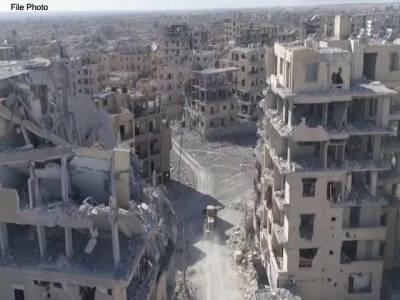 امریکہ نے رقہ کو صفحہ ہستی سے ہی مٹا دیا،علاقے کھنڈر بن گئے :روس کا الزام