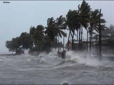 جاپان میں سمندری طوفان'' لین ''ساحل سے ٹکرا گیا، 2 افراد ہلاک، متعدد زخمی