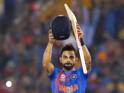 بھارتی کپتان ورات کوہلی ون ڈے کرکٹ میں تیز ترین 9ہزار رنز بنانے والے دنیا کے پہلے کرکٹر بن گئے