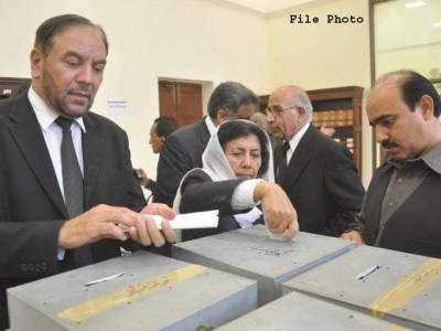 سپریم کورٹ بارایسوسی ایشن کے انتخابات کیلئے پولنگ کا عمل جاری، 22 نشستوں پر 44 امیدوار مد مقابل
