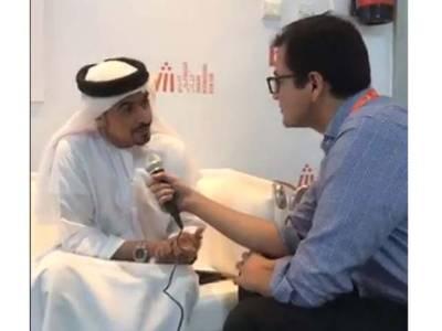 شارجہ میں بین الاقوامی کتاب میلہ، لوگوں کی کتاب سے محبت ہماری کامیابی کی ضمانت ہے: احمد الامیری