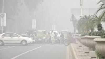 پنجاب میں شدید سموگ، مختلف حادثات میں 6 افراد جاں بحق