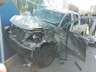 کوئٹہ میں صبح سویرے دھماکہ ،اے آئی جی حامد شکیل سمیت تین اہلکار شہید ،8اہلکار زخمی