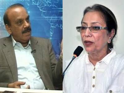 شبیر قائم خانی، کشور زہرہ ناراض، اجلاس چھوڑ کرچ لے گئے