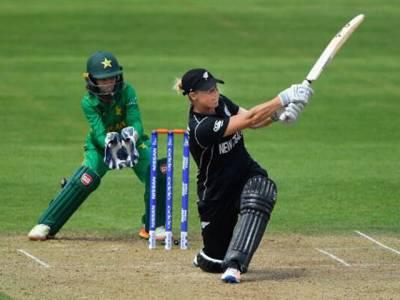 پاکستان ویمن کرکٹ ٹیم سے جیت روٹھ گئی،نیوزی لینڈکے خلاف دوسرے ٹی ٹوئنٹی میں39رنز سے شکست