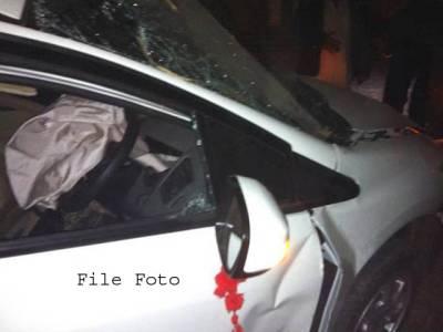 مورو میں کار اور ٹریلر میں تصادم ،5افراد جاں بحق2زخمی