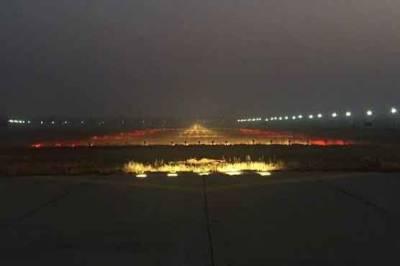 علامہ اقبال ایئرپورٹ پردھندکے ڈ یرے،اینٹی فوگ سسٹم آن کردیاگیا:ائیرپورٹ انتظامیہ