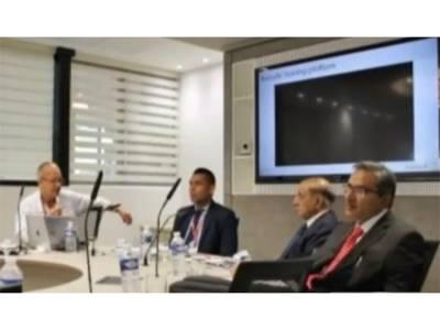 پاکستانی سرجنز کی لیپروسکوپک اورروبوٹک سرجری کی ٹریننگ کیلئے سی پی ایس پی کے صدر پروفیسر ڈاکٹر ظفراللہ چوہدری کا دورہ فرانس
