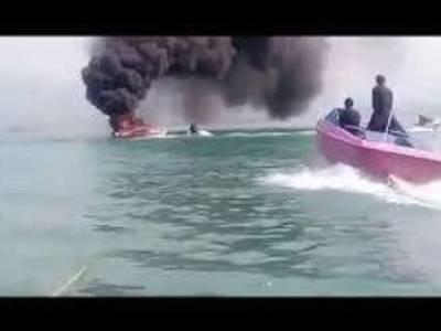 خان پور ڈیم، کشتی میں دھماکہ، ناقص حفاظتی انتظامات پر مالک کے خلاف مقدمہ درج