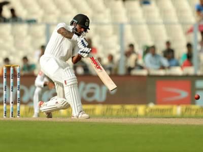 کولکتہ ٹیسٹ،چوتھے دن کا کھیل ختم،بھارت نے دوسری اننگ میں ایک وکٹ کے نقصان پر171رنز بنالئے