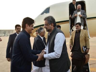وزیر اعظم کی کراچی آمد ، پورے ملک کی یکساں ترقی وفاق کا وژن ،عوام کے جان و مال کا تحفظ حکومت کی اولین ترجیح ہے : شاہد خاقان عباسی