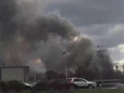 نیویارک میں کاسمیٹکس فیکٹری میں دھماکے، درجنوں افراد زخمی