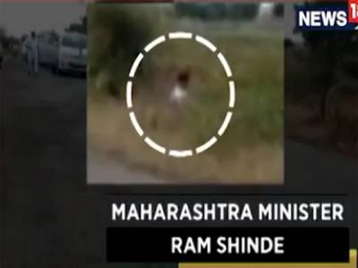 بھارتی وزیر کی کھیت میں پیشاب کرتے ویڈیو وائرل ہوگئی، عوام کی تنقید