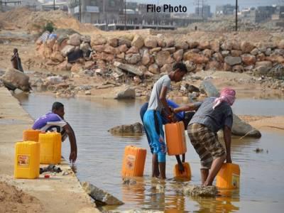 25لاکھ یمنی شہری پینے کے صاف پانی سے محروم ہیں: ریڈ کراس