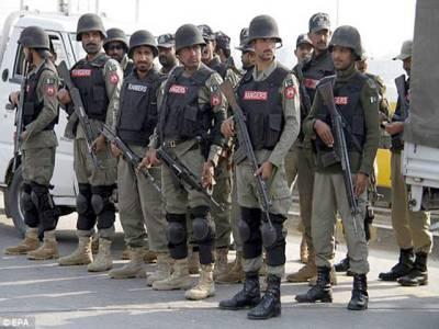 رینجرز نے فیض آباد انٹر چینج پر دھرنے کی جگہ کا کنٹرول سنبھال لیا
