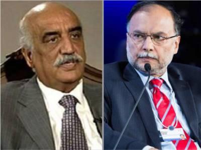 وزیر داخلہ کا خورشید شاہ کو فون،مذاکرات کے ذریعے معاملہ حل کرنے میں مدد طلب
