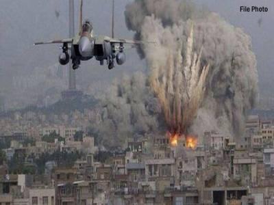 مصر ی فضائیہ کی بمباری،سینائی مسجد حملے میں استعمال ہونیوالی گاڑیاں اور ''دہشتگردوں '' کے ٹھکانے تباہ