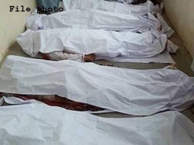 لکی مروت میں فائرنگ کرکے 5 افراد کو قتل کردیاگیا