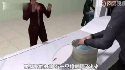 چینی جوڑے کے دستی سامان سے ایئرپورٹ پر سینکڑوں لال بیگ برآمد