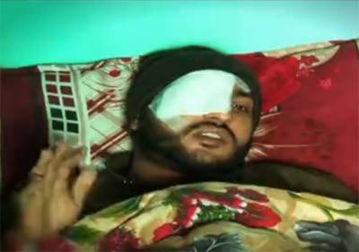 فیض آباد دھرنے کے خلاف آپریشن میں آنکھ میں پتھر لگنے سے پولیس کا بہادر کمانڈر ایک آنکھ سے محروم ہو گیا