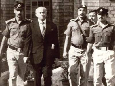 '' میں پاک ہوں مجھے نہانے کی ضرورت نہیں ہے'' سابق وزیر اعظم ذوالفقار بھٹو کو جس رات تختہ دار پر لے جانا تھا ،اس رات کیا کچھ ہوا؟انتہائی سنسنی خیز تفصیلات