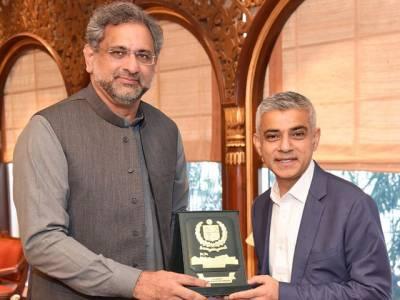 وزیر اعظم سے میئر لندن کی ملاقات،صادق خان کے لندن کا میئر منتخب ہونے پر ہر پاکستانی کو فخر ہے: وزیر اعظم