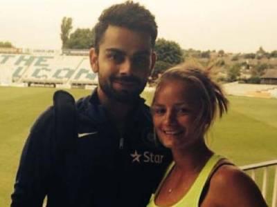 ویرات کوہلی کی انوشکا سے شادی کے بعد ایسی خاتون نے مبارک باد کا پیغام جاری کر دیا کہ بھارتی کھلاڑی سوچ بھی نہیں سکتے ہوں گے