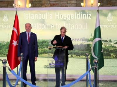 وزیراعلیٰ شہبازشریف کی میئر استنبول سے ملاقات،مختلف شعبوں میں تعاون بڑھانے پر تبادلہ خیال