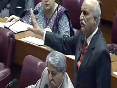 ایاز صادق نے اسمبلیوں کے مستقبل پر اندرکی خبردی، فاٹا کو حقوق ملنے تک ایوان میں نہیں بیٹھیں گے: خورشید شاہ