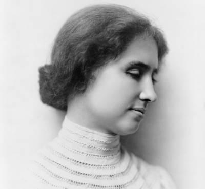 ہیلن کیلر جوگونگی بہری تھی لیکن اپنے مقابل کے ہونٹوں پر جسم کا یہ حصہ رکھتی اور سب کچھ سمجھ جاتی تھی