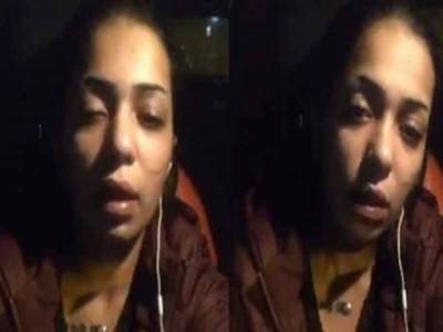 مصری مول گرل نے اپنی خودکشی کی کوشش کی وڈیو جاری کر دی