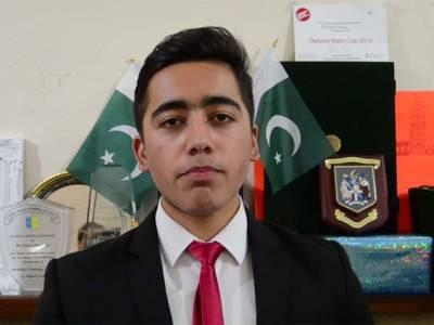 سانحہ پشاور میں زخمی ہونے والے طالبعلم احمد نواز نے برطانیہ سے پاکستانیو ں کیلئے پیغام جاری کر دیا ،بڑی خوشخبری بھی سنا دی
