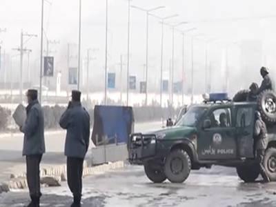 افغان خفیہ ایجنسی این ڈی ایس کے ٹریننگ سنٹر پر حملہ، پانچ دھماکے، فائرنگ کا سلسلہ جاری