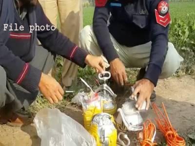 کوئٹہ میں تخریب کاری کی کوشش ایک بار پھر ناکام ،12 کلو دھماکا خیزمواد ناکارہ بنا دیا گیا