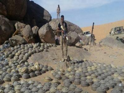 یمنی فوج نے حوثیوں کی بچھائی گئی 6ہزار بارودی سرنگیں تلف کردیں