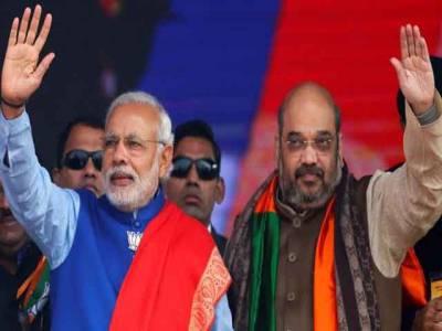 گجرات اورہماچل پردیش کے ریاستی انتخابات،بی جے پی کو برتری حاصل