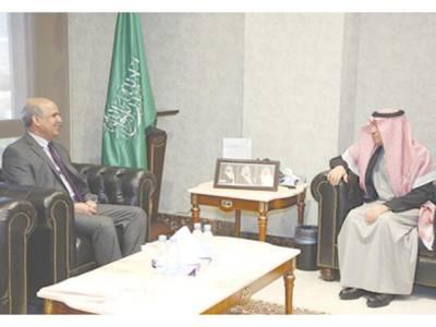 سفیر پاکستان کی سعودی وزیرمحنت و سماجی بہبود سے ملاقات