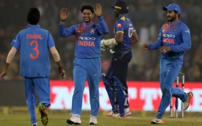 بھارت نے پہلے ٹی ٹوئنٹی میچ میں سری لنکا کو 93رنز سے شکست دے دی