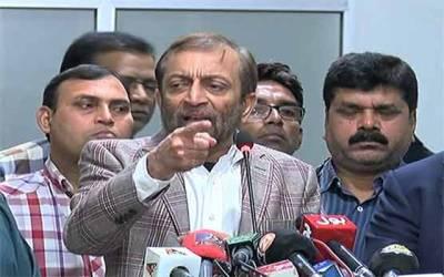 فاروق ستار کا کراچی میں بستیاں گرانے کیخلاف احتجاج کا اعلان