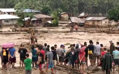 فلپائن میں سمندری طوفان ،آسمانی تودوں اور سیلاب سے ہونے والی ہلاکتوں کی تعداد 140سے تجاوز کر گئی