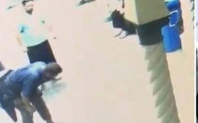 القدس کے مسئلے پر گفتگو سے انکار، آسٹریلوی شخص نے نمازی کی ناک توڑ دی