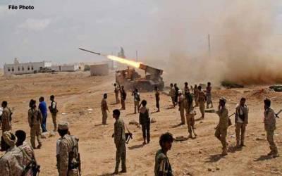 حوثی یمنی فوج کی چوکیوں پر بیلسٹک میزائل داغنے میں ناکام،لڑائی میں دسیوں باغی ہلاک