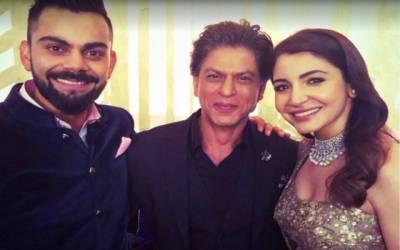 ممبئی میں ویرات کوہلی اور انوشکا شرما کی شادی کی تقریب میں شاہ رخ خان نے وہ کام کردکھایا جو انہوں نے کبھی کسی کی شادی پر نہیں کیا