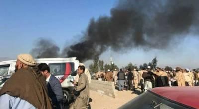 افغانستان میں نماز جنازہ کے دوران خود کش دھماکہ ،15ہلاک13شدید زخمی