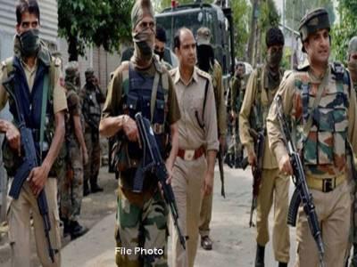 مقبوضہ کشمیر: حملے میں بھارتی پولیس فورس کے2اہلکار ہلاک ، 3 خمی