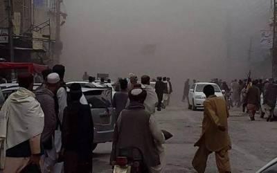چمن میں مال روڈ پر یکے بعد دیگر دو دھماکے ،7 افراد زخمی